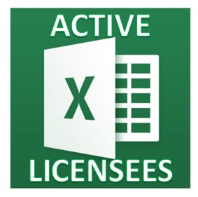 Active License Holders